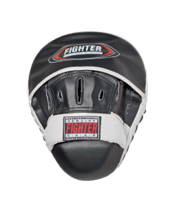 FIGHTER-BN Handmitt Hook & Jab ultra ligh schwarz/weiß  Set aus 2 Stk