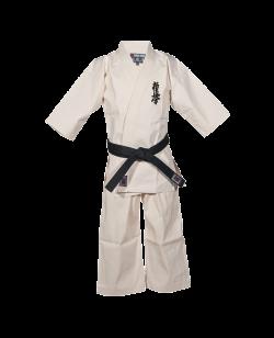 BN Honbu Gi Kyokushinkai Karateanzug rohweiß
