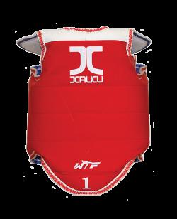 BN JCalicu Kampfweste L Competition WTFapproved rot/blau beidseitig verwendbar JC1004 L