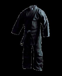 adidas K220B Bushido Karateanzug schwarz