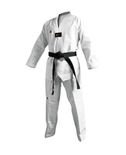 adiTCH02 TKD Champion II Uniform weißes Revers