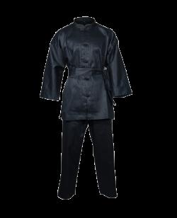 Budo Nord Kung Fu Anzug schwarz