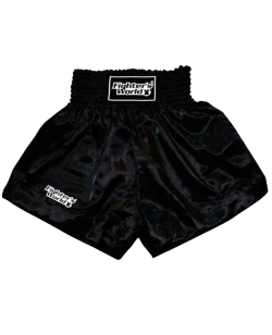 FW Boran Thaiboxing Short schwarz/weiß L