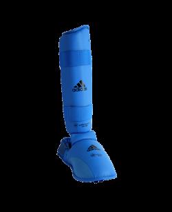 adidas Karate Schienbein Ristschutz Elite blau M WKF approved adi661.35 M