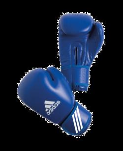 adidas AIBAG1 Boxhandschuh Contest AIBA Licensed blau 12oz