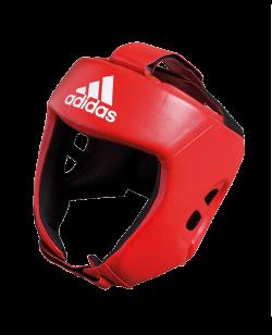 adidas AIBAH1 - Kopfschutz Boxing Aiba rot, CE