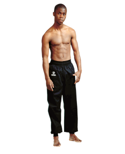 FW Kung Fu Pants schwarz Hose