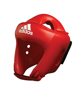 adidas ADIBH04 Kopfschutz adistar Boxing Farbe rot, CE
