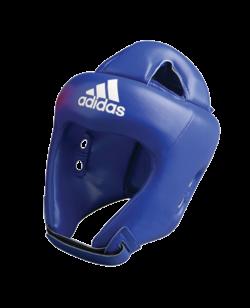 adidas ADIBH04 - Kopfschutz adistar Boxing, Farbe blau, CE