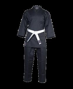 Budo Nord Empi Karate Anzug 120 cm schwarz 120cm
