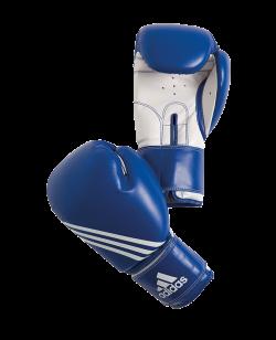 adidas Boxhandschuhe TRAINING Diagonal Print 10oz blau/weiß adiBT02 10oz