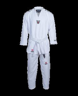 TAEKWONDO Anzug BN Zephyr weißer Kragen