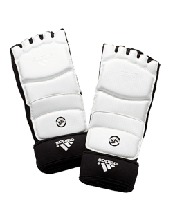 adidas Taekwondo Fußschützer WTF weiss Gr. M adiTFS01 M