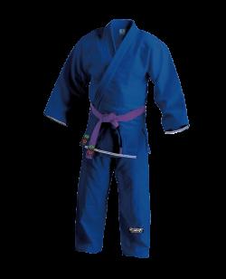 FW RIO Brazilian Jiu Jitsu Kimono blau