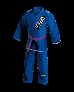 FW RIO LOCO Brazilian Jiu Jitsu Kimono blau