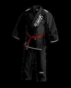 FW RIO LOCO Brazilian Jiu Jitsu Kimono schwarz