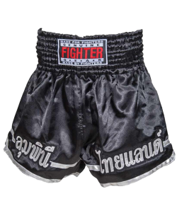 FIGHTER Thaishort 029 schwarz L