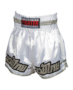 FIGHTER Thaishort 030 weiß