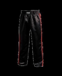 FW Kickboxhose Warrior schwarz/rot