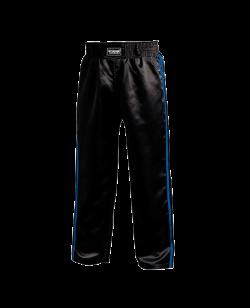 FW Kickboxhose Warrior schwarz/blau