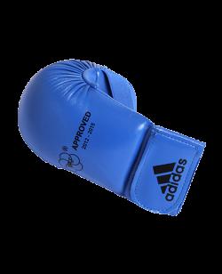adidas Karate Faustschutz WKF, blau