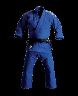 adidas J930B Slim Fit Champion Gi - Judo Anzug blau IJF