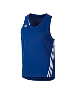 adi Boxer Top Base Punch blau/weiß adidas V14120