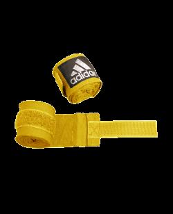 adidas ADIBP03 - Boxbandagen elastic Farbe gelb, Breite 5 cm