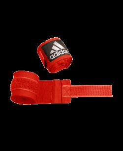adidas ADIBP03 - Boxbandagen elastic Farbe rot, Breite 5 cm