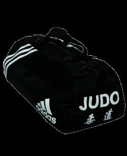 adidas Sporttasche JUDO M schwarz/weiß Nylon adiACC050J M