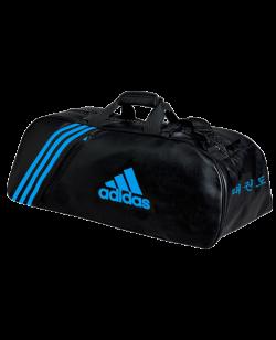 adidas Sporttasche TAEKWONDO PU schwarz/solar blue  adiACC051T