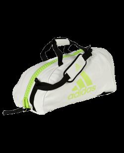 adidas Sporttasche 2 in 1 BAG, weiß/grün ADIACC051MA