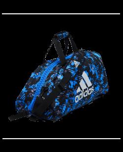 adidas Sporttasche Rucksack 2 in 1Bag blau/silber camo ADIACC058MA