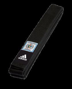 adidas Dan Gurt Elite schwarz mit rotem IJF Label adib240