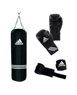 adidas Performance Boxing Set ca. 80x30 cm 18 kg Boxhandschuhe 12.oz adiBAC11KIT