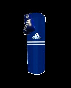 adidas blue Corner Boxing Kit Boxsack 80x30 cm 18 kg ADIBAC11SMU
