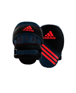adidas Speed Woman Focus mitt short Curved schwarz/rot standard ADIBACMW01