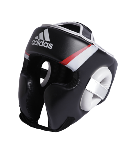 adidas Kopfschutz Training, schwarz/rot/weiß adiBHG022