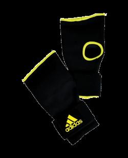 adidas Innenhandschuhe Super Inner Glove elastic schwarz/gelb adiBP02