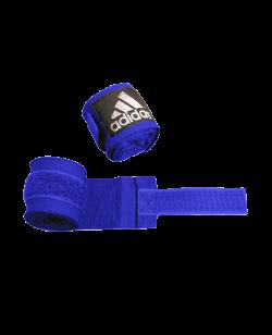 adidas ADIBP03 - Boxbandagen elastic Farbe blau, Breite 5 cm