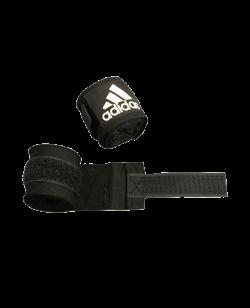 adidas ADIBP03 - Boxbandagen elastic Farbe schwarz, Breite 5 cm