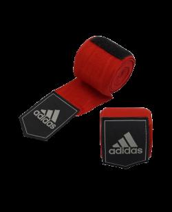 adidas Boxbandagen AIBA elastic Farbe rot 5,7 x 3,55m adiBP031 355