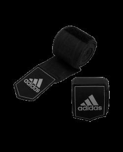 adidas Boxbandagen AIBA elastic Farbe schwarz 5,7 x 3,55m adiBP031 355cm