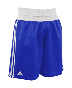 adidas Boxing Shorts Punch Line blau weiss ADIBTS02