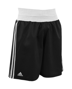 adidas Boxing Shorts Punch Line schwarz weiss ADIBTS02