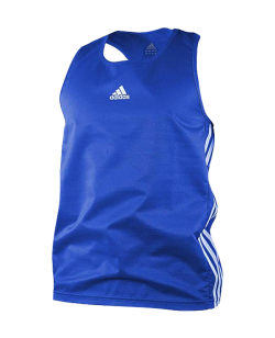adidas Boxing Top Punch Line blau weiss ADIBTT02