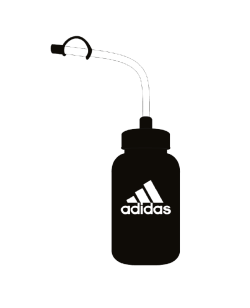 adidas Water Bottle schwarz 1 Liter  ADIBWB01