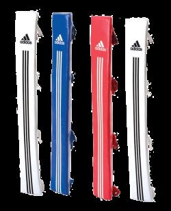 adiCNPT01 Box Ring Ecken Corner  Set 2 x weiß 1x rot 1x blau adidas