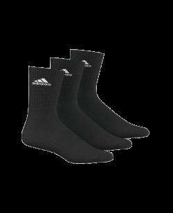 adidas Sportsocken  Gr.35-38 schwarz 3er-Pack lang AA2298 35-38