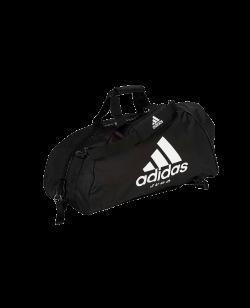 adidas Sporttasche Judo 2 in 1Bag schwarz/weiß ADIACC052J